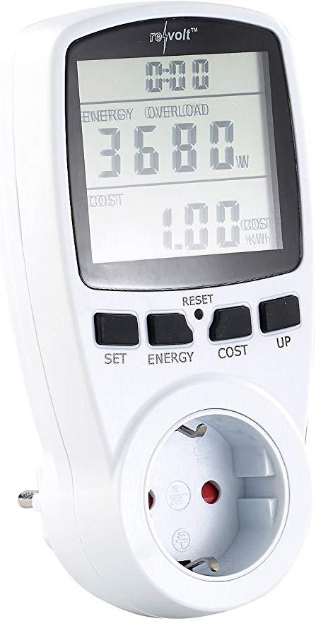 Revolt Digitaler Energiekostenmesser (NC-5550)