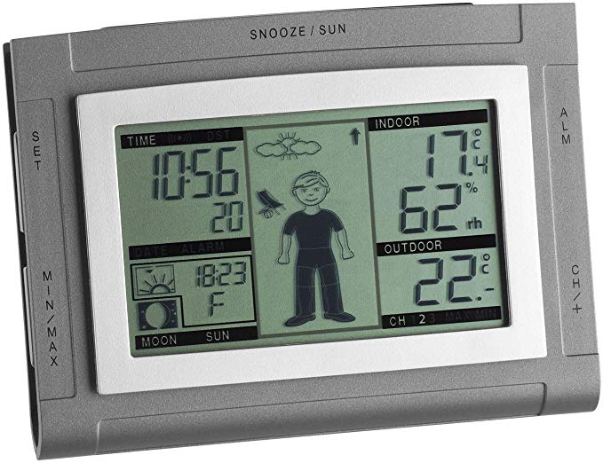 TFA Dostmann Funkwetterstation Weather Boy XS