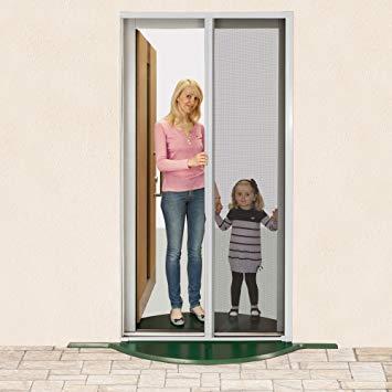 Jarolift Insektenschutzrollo für Türen (125 x 220 cm)